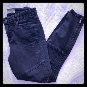 Free People Moto high-waisted skinny jeans